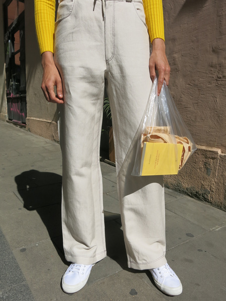 Baserange Dixon Pants - Beige