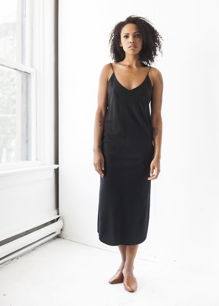 Ozma Slip Dress in Black