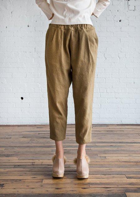 Black Crane Heavy Carpenter Pants - Khaki