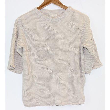 Micaela Greg Dash Sweater in Cream