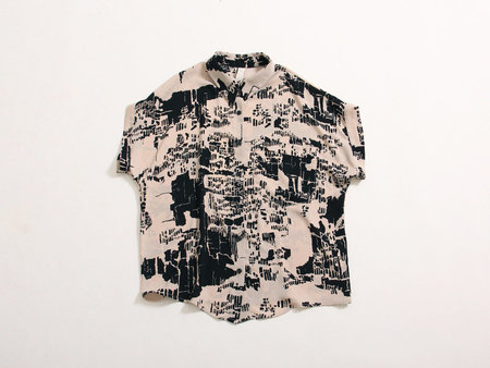 Eve Gravel Perfect Day Top - Landscape Print
