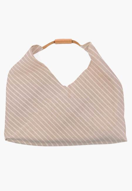 New Market Goods Bali Johla Market Bag - Stripes