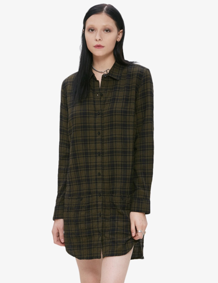 Obey Fairuza Shirt Dress