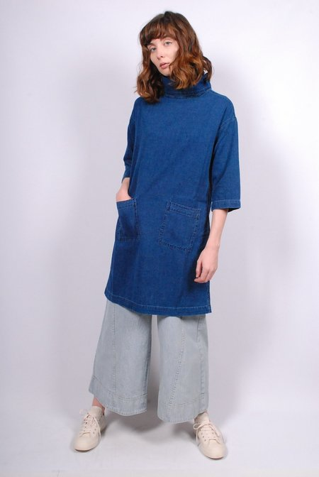 Mih Jeans Westbourne Dress - Flat blue