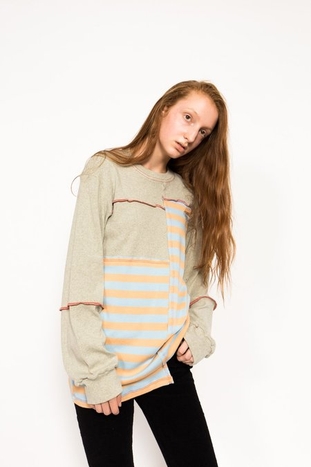 ECKHAUS LATTA Patched Long Sleeve