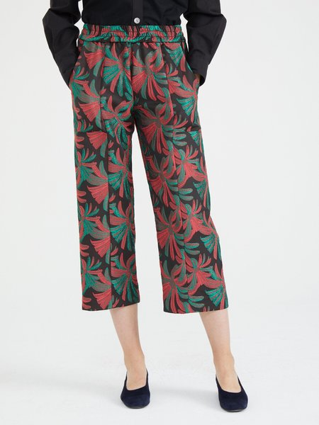 Nikki Chasin PATCH PANT - WATERMELON TROPICAL