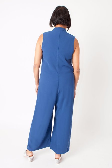In God We Trust Dixon Jumpsuit - Blue