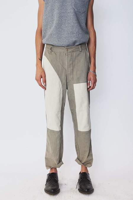Unisex Zed Cotton Patch Pants