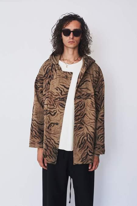 Unisex Zed Tiger Parka Shirt