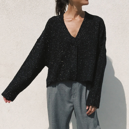 Creatures of Comfort Cropped Cardigan