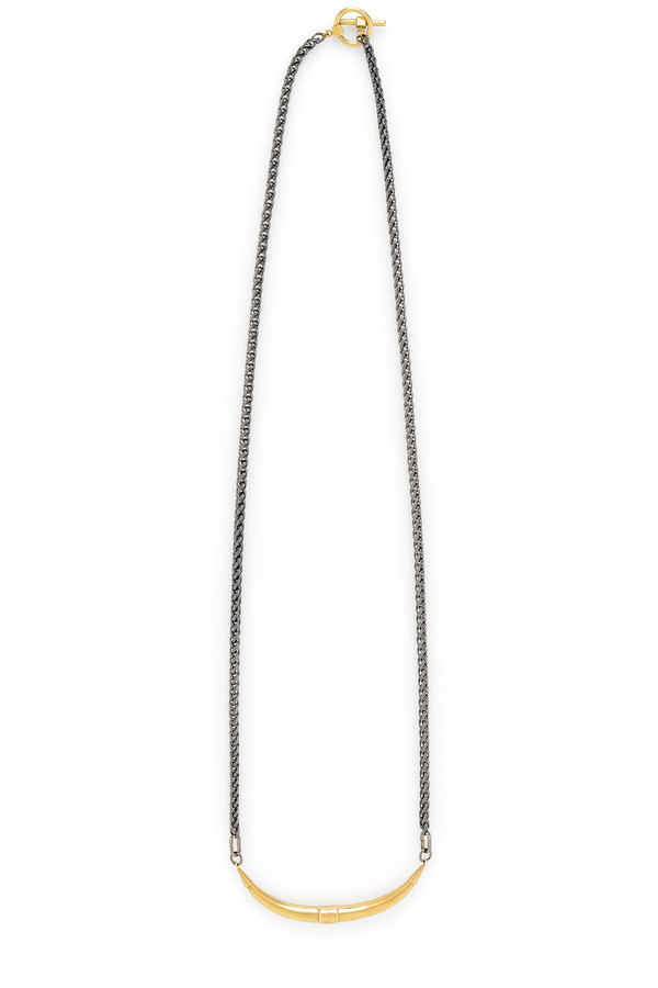 Mercurial NYC Bulls Horn Necklace