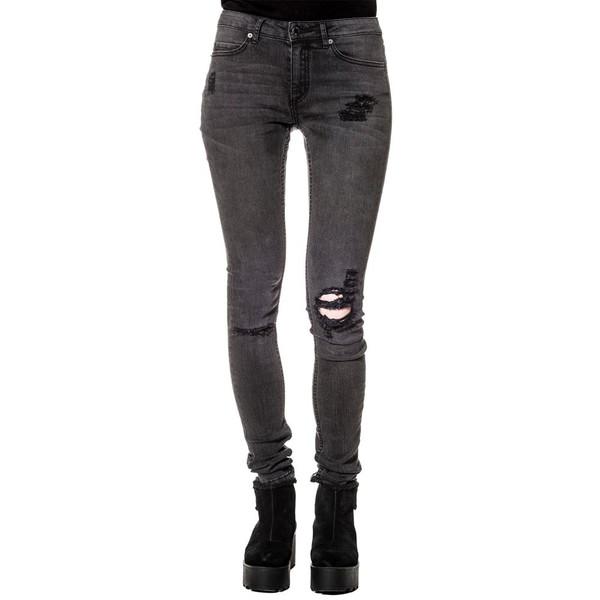 Cheap Monday Prime Torn Black Jeans