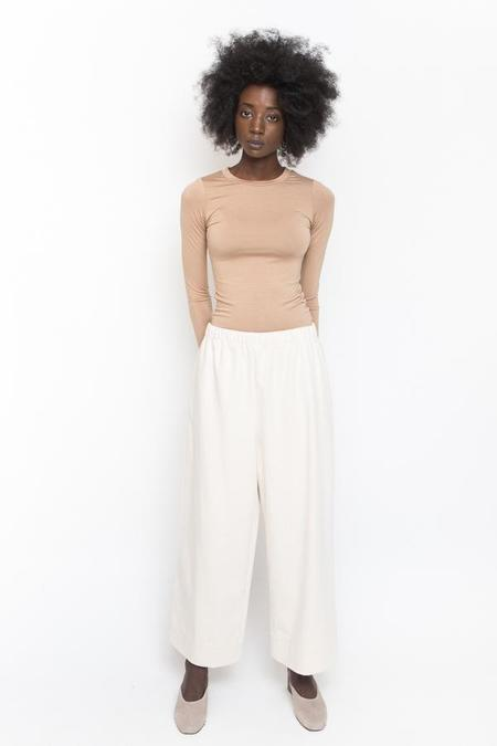 Hackwith Design House Savoy Pant - Cream Denim