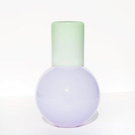 Anna Karlin Bedside Carafe - Pale Purple / Pale Green