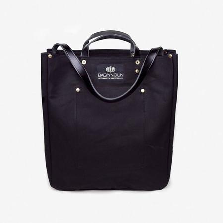 BAG'n'NOUN Tool Bag with Leather Strap in Noir