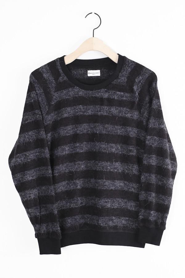 Jett Raglan Cree Neck Sweater