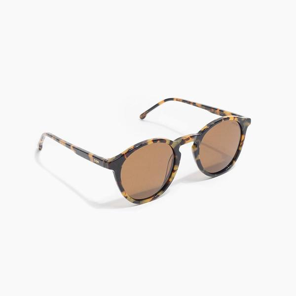 Komono Aston Sunglasses in Tortoise Demi