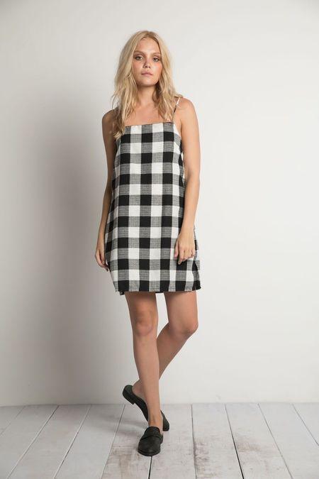Rue Stiic Gilmore Mini Dress - Check
