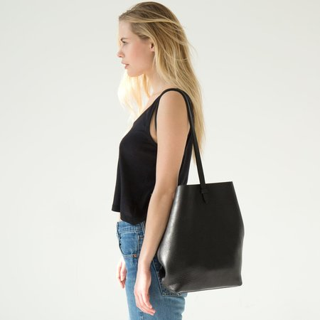 Lotuff Sling Leather Backpack