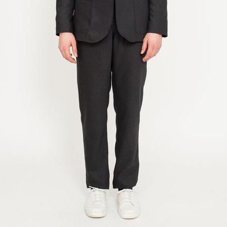 Corridor Charcoal Wool Travel Trousers