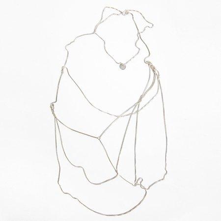 Saskia Diez Wild Necklace - Sterling Silver