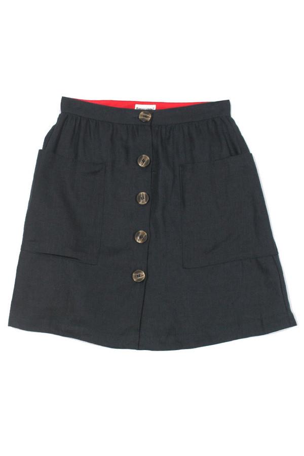 Bridge & Burn Beatrice Skirt Navy