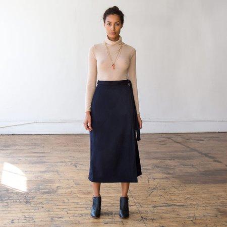 Svilu Wool Wrap Skirt