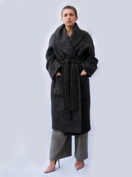 Lera Pivovarova Astrid Oversized Coat - Grey