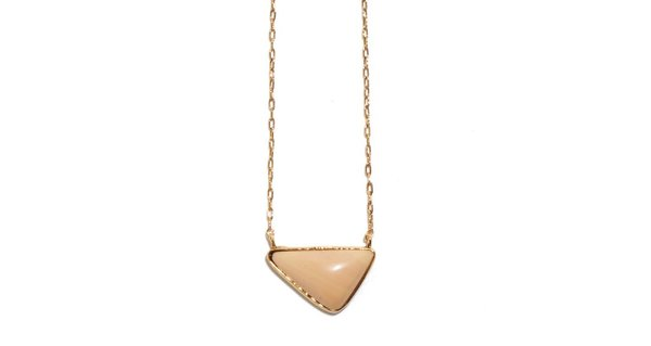 Lizzie Fortunato Kate Necklace in Nude