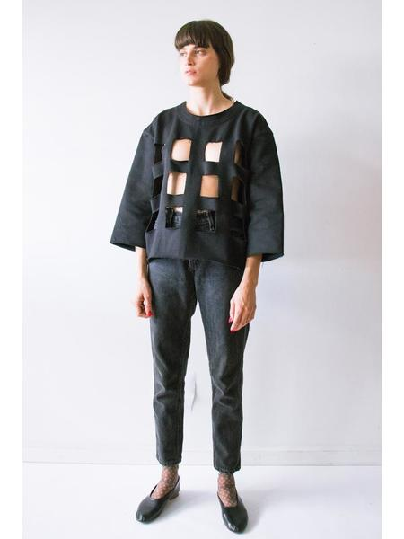 Nancy Stella Soto Cutout Sweatshirt