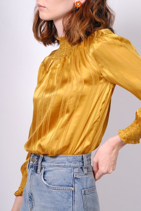 Ulla Johnson Geri Blouse - Gold