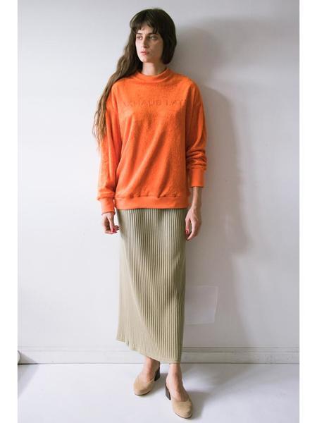 Eckhaus Latta Sweatshirt -Orange