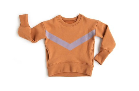 Telegraph Ave Terracotta Pocket Sweatshirt