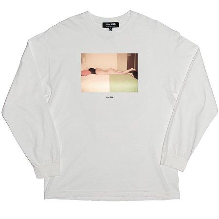 Unisex Skim Milk Dominoe Long Sleeve T-Shirt
