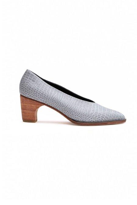 Rachel Comey Curie Pump - Grey Croc