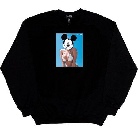 Unisex Skim Milk Mickeylicker Sweatshirt