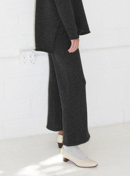 Micaela Greg A Line Pant - Speckle Black