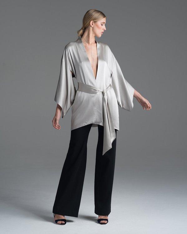 VOZ Apparel Silk Kimono