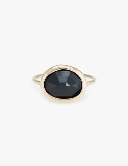 Kathryn Bentley Black Onyx Slice Ring