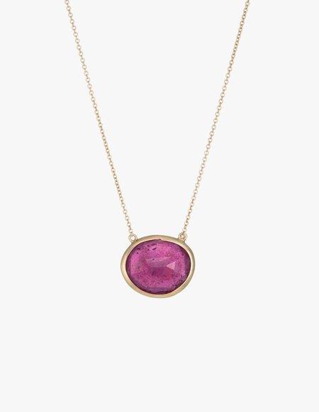 Kathryn Bentley Ruby Slice Necklace