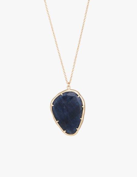 Kathryn Bentley Sapphire Organic Amulet Pendant