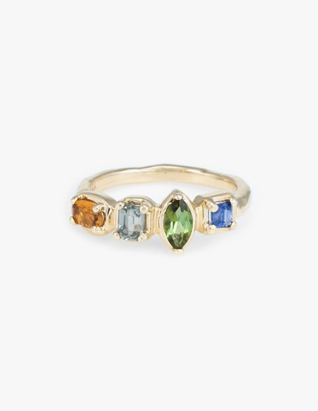 Kathryn Bentley Square Quartet Ring