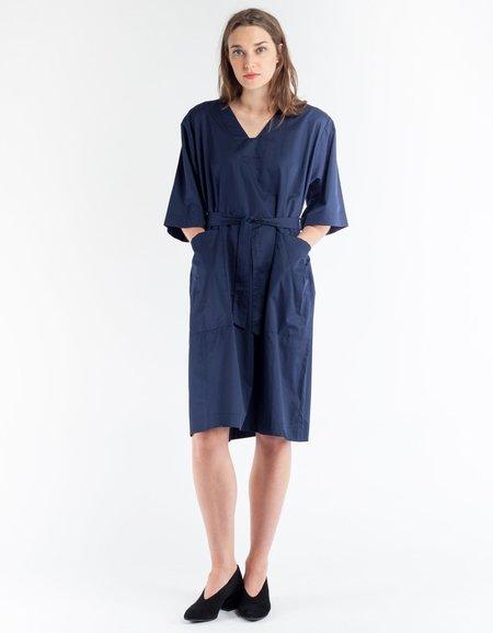 Sunja Link Patch Pocket Dress - Navy