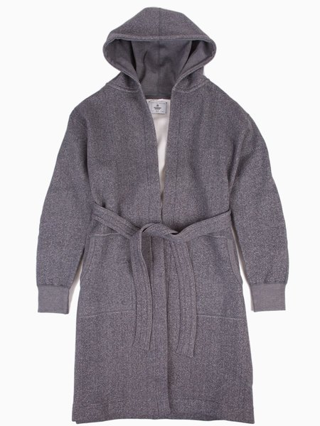 Reigning Champ Tiger Fleece Robe - Grey