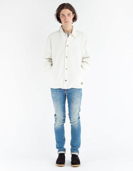 Brixton Wright Jacket Off White