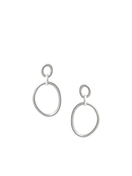 In God We Trust Cory deux earrings - silver