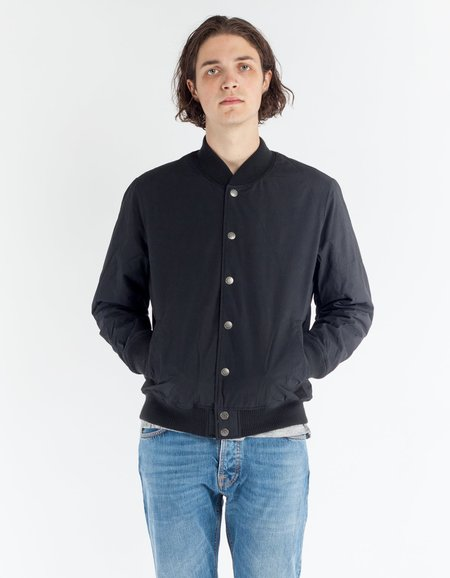 Deus Chuck Fleece Bomber Black