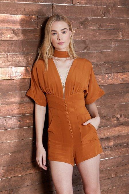 Cosette Clothing Gemma Silk Romper