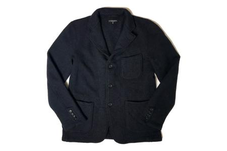 Engineered Garments Sweater Knit Blazer - Dark Navy