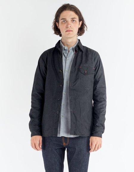 18 Waits Ramblin' Weekender Jacket Black Waxed Cotton